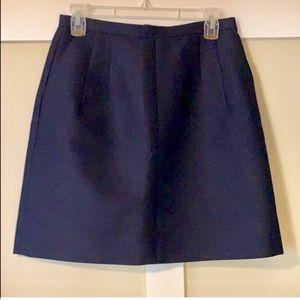 J Crew size 4 navy skirt